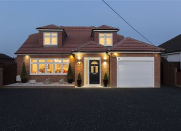 Thumbnail 4 bed detached house for sale in Lake Avenue, Rainham