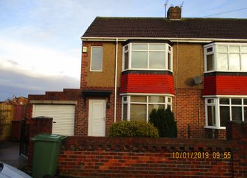 Thumbnail 2 bed semi-detached house to rent in Elmwood Road, Hartlepool
