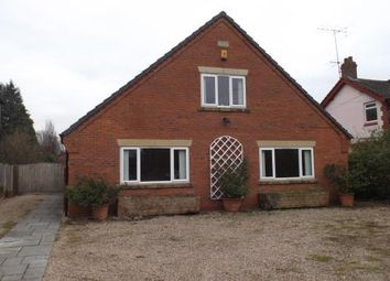 Thumbnail 4 bed bungalow for sale in Crewe Road, Crewe, Cheshire