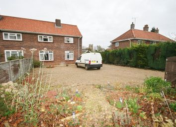 Thumbnail Semi-detached house for sale in Vicarage Road, Deopham, Wymondham