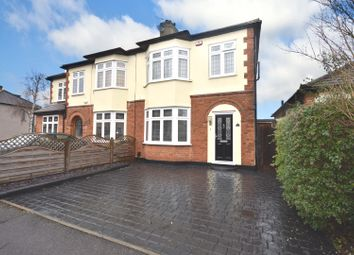 Thumbnail 3 bed semi-detached house for sale in Cranham Road, Hornchurch