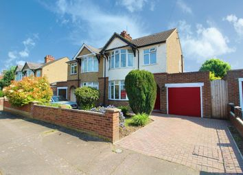 Thumbnail 3 bed semi-detached house for sale in Foster Road, Kempston, Bedfordshire