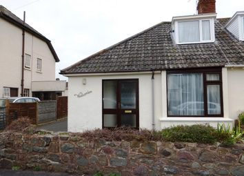 Thumbnail 2 bed bungalow to rent in Furzeland Road, Porlock, Minehead