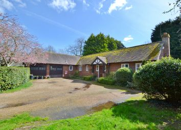 Thumbnail 3 bed detached bungalow for sale in Kirdford Road, Wisborough Green, Billingshurst