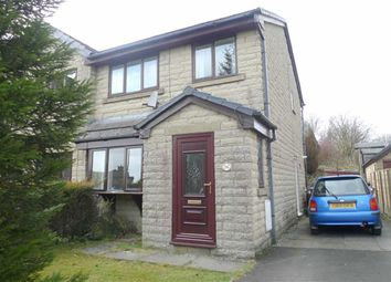 Thumbnail 3 bed semi-detached house for sale in Horseshoe Avenue, Dove Holes, Derbyshire