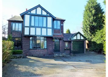 Thumbnail 4 bedroom detached house for sale in Werneth Road, Woodley, Stockport