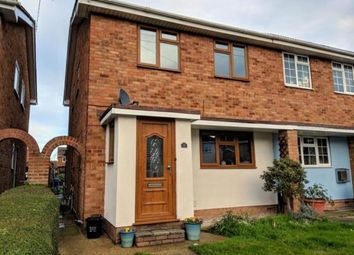 Thumbnail 4 bed end terrace house for sale in Ruskoi Road, Canvey Island