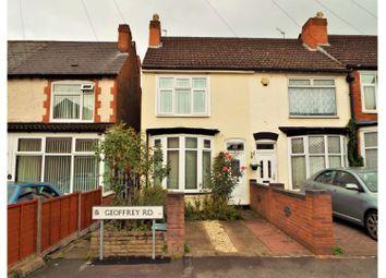 Thumbnail 3 bed terraced house for sale in Geoffrey Road, Birmingham