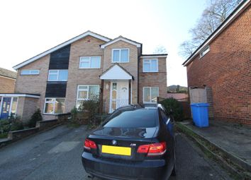 Thumbnail 5 bed semi-detached house for sale in Lanercost Way, Ipswich