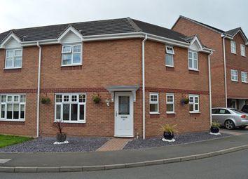 Thumbnail 3 bedroom semi-detached house for sale in Stuart Way, Market Drayton