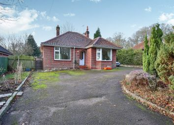 Thumbnail 2 bed bungalow for sale in Fakenham Road, Drayton, Norwich, Norfolk