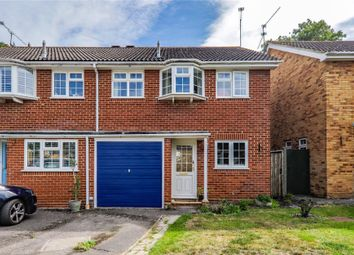Thumbnail 3 bed semi-detached house for sale in Birchmead, Winnersh, Wokingham, Berkshire