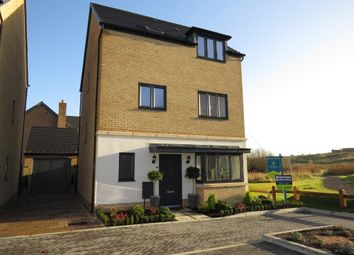 Thumbnail 5 bedroom detached house for sale in Goldcrest Way, Hampton Vale, Peterborough