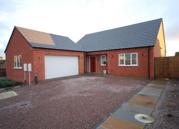 Thumbnail 3 bed detached bungalow for sale in Gamekeeper Close, Holbeach, Spalding