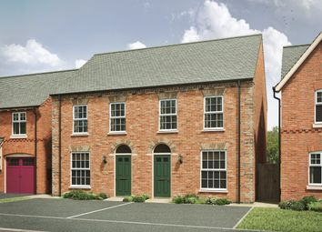 "Thumbnail 3 bed semi-detached house for sale in ""The Thetford"" at Attley Way, Irthlingborough, Wellingborough"