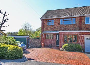 Thumbnail 3 bed semi-detached house for sale in Dormy Close, Sarisbury Green, Southampton