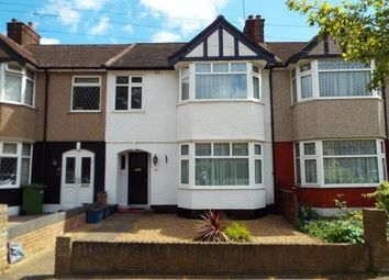 Thumbnail 3 bed terraced house to rent in Mapleleafe Gardens, Barkingside, Ilford