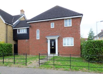 Thumbnail 4 bed detached house to rent in Cleves Road, Haverhill