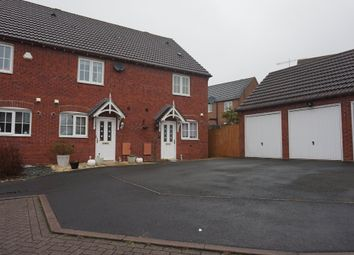 Thumbnail 2 bed end terrace house for sale in Combine Close, Four Oaks, Sutton Coldfield