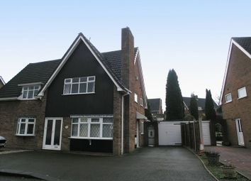 Thumbnail 2 bedroom semi-detached house for sale in Dudley, Russells Hall, Minehead Road