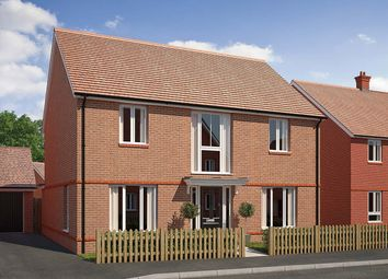 "Thumbnail 4 bedroom detached house for sale in ""The Cresswell"" at Saunders Way, Basingstoke"