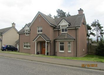 Thumbnail 5 bed detached house to rent in Chestnut Park, Banchory