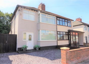 Thumbnail 3 bed semi-detached house for sale in Fairfield Avenue, Liverpool
