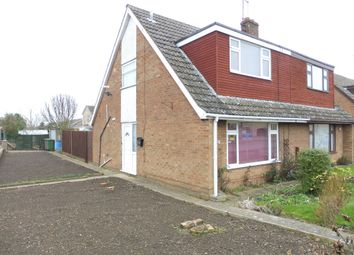 Thumbnail 2 bedroom property for sale in Hallcroft Road, Whittlesey, Peterborough