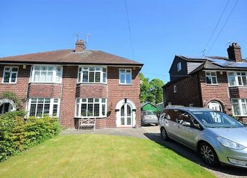 Thumbnail 4 bed semi-detached house for sale in 7 Station Road, Holmes Chapel, Crewe