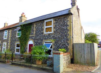 Thumbnail 3 bed semi-detached house to rent in High Street, Methwold, Thetford