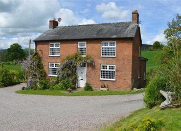 Thumbnail 5 bedroom farmhouse for sale in Gwynfynydd, Llanwnog, Caersws, Powys