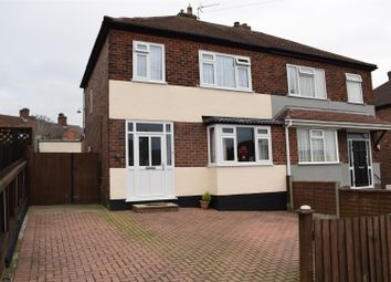 Thumbnail 3 bed semi-detached house for sale in Dundee Road, Midway, Swadlincote
