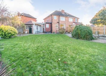 Thumbnail 3 bedroom semi-detached house for sale in Meadow Grove, Olton, Solihull, West Midlands