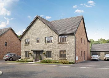 Thumbnail 5 bed detached house for sale in The Wolvercote, Plot 135, Lakeview, Colwell Green, Witney, Oxon