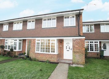 Thumbnail 3 bedroom terraced house to rent in Trenchard Close, Hersham, Walton-On-Thames