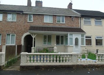 Thumbnail 4 bed terraced house to rent in Lathum Close, Whiston, Prescot