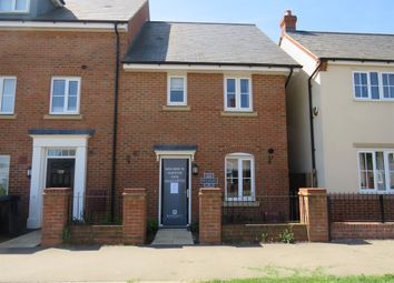 Thumbnail 3 bed end terrace house for sale in Gold Furlong, Marston Moretaine, Bedford