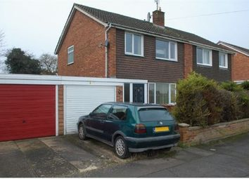 Thumbnail 3 bedroom semi-detached house for sale in Reedham Close, Duston, Northampton