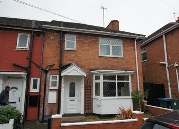 Thumbnail 3 bed end terrace house to rent in Terry Road, Coventry