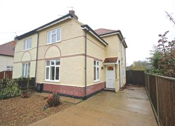 Thumbnail 3 bed semi-detached house to rent in Highland Avenue, Norwich