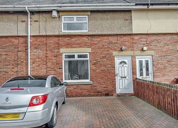 Thumbnail 2 bed terraced house for sale in Glebe Road, Forest Hall, Newcastle Upon Tyne
