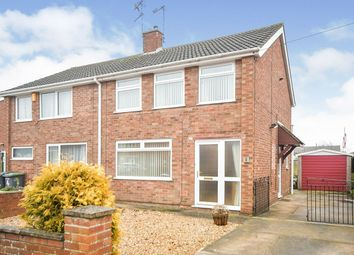 2 bed semi-detached house for sale in Birch Close, North Hykeham, Lincoln, Lincolnshire LN6