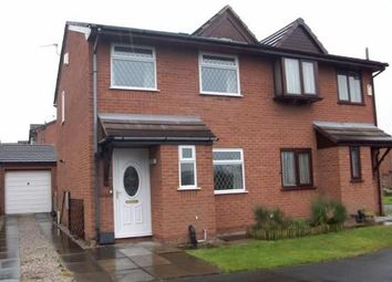 Thumbnail 3 bed semi-detached house to rent in Long Meadows, Chorley