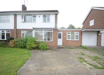 Thumbnail 3 bed semi-detached house to rent in Lavenham Drive, Woodley, Reading