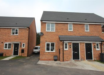 Thumbnail 3 bed semi-detached house for sale in Slate Drive, Burbage, Hinckley