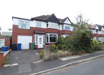 Thumbnail 4 bed semi-detached house for sale in Brooklawn Drive, Prestwich, Manchester