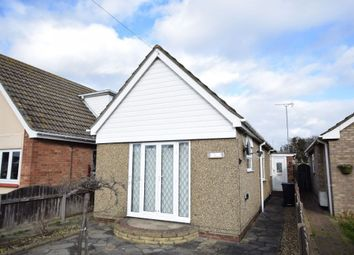 Thumbnail Detached bungalow for sale in Stratford Road, Holland-On-Sea, Clacton-On-Sea