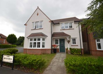 Thumbnail 4 bed detached house for sale in Bryce Drive, Bromborough, Wirral