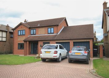 Thumbnail 4 bed detached house for sale in Gatesbridge Park, Finningley, Doncaster