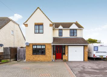 Thumbnail 4 bed detached house for sale in Lees Lane, Southoe, St. Neots